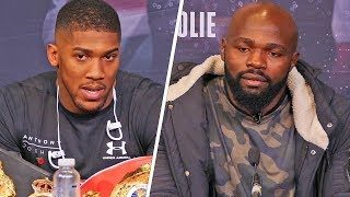 Anthony Joshua vs Takam PRESS CONFERENCE