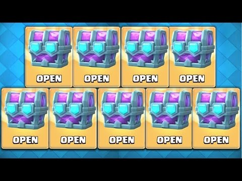 OPENING 9 DOUBLE LEGENDARY DRAFT CHEST! Clash Royale OPENING ULTIMATE CHAMPION CHEST + 9 Draft Chest
