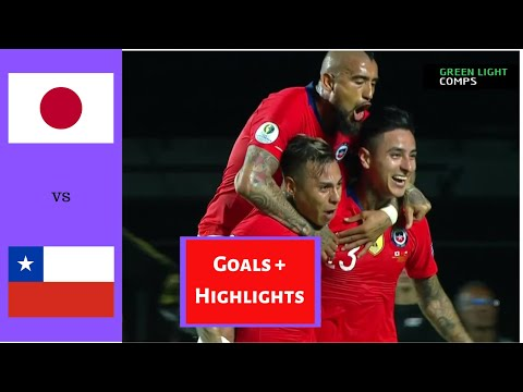 Chile vs Japan 4-0 All Goals & Highlights | Copa América 2019 | English Commentary