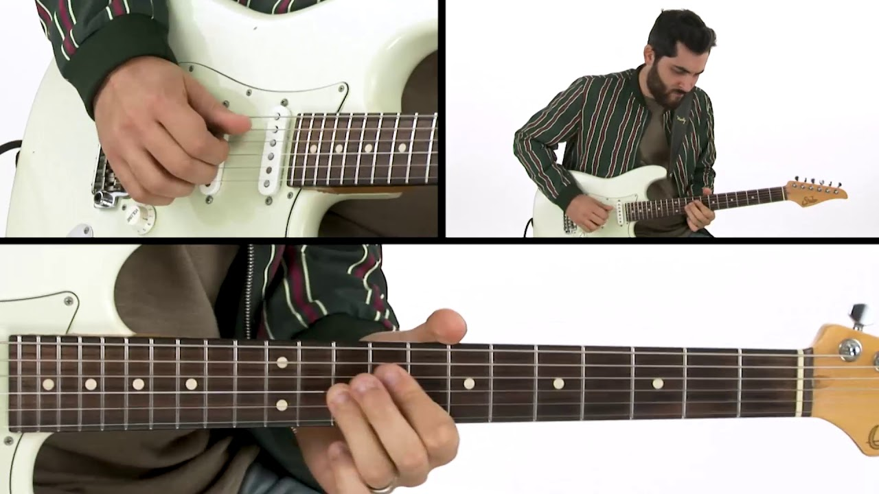 🎸Ariel Posen Guitar Lesson – Donuts F#m Blues: Demo – The Electric Storyteller