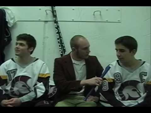 DeSmet Hockey Uncut interview and bloopers