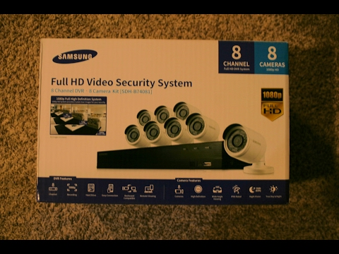 Samsung Security Camera System - Installation and Tip Guide