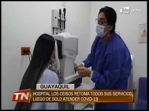 Hospital Los Ceibos retoma todos sus servicios luego de solo atender covid-19