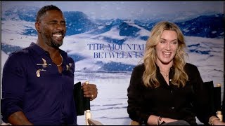 Video Kate Winslet and Idris Elba interview - THE MOUNTAIN BETWEEN US MP3, 3GP, MP4, WEBM, AVI, FLV Agustus 2018