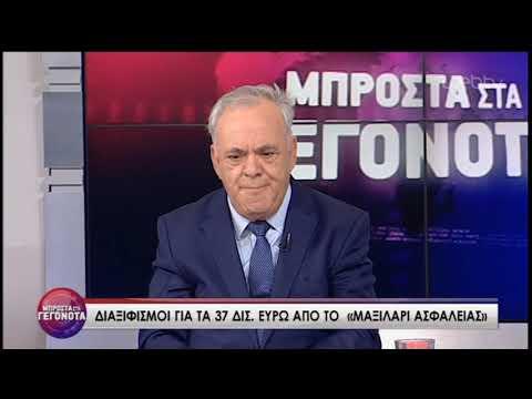 Ο Γ. Δραγασάκης «Μπροστά στα Γεγονότα» | 04/07/2019 | ΕΡΤ