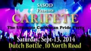 CARIFETE Pride Party - Saturday, Sept. 13, 2014