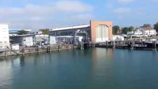Friedrichshafen Germany  City pictures : Romanshorn to Friedrichshafen with ferry September 2014