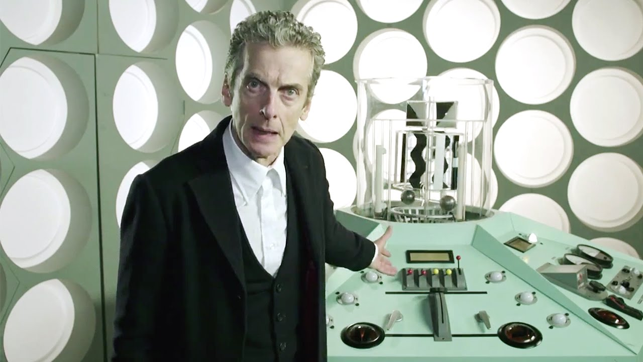 Watch The Twelfth Doctor in FIVE TARDIS Console Rooms