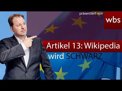 Artikel 13: EU veröffentlicht Lobby-Video & Wikipedia will abschalten
