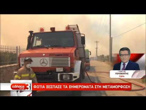 Πολύ υψηλός σήμερα ο κίνδυνος εκδήλωσης πυρκαγιάς | 31/08/2019 | ΕΡΤ