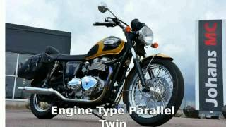 10. 2006 Triumph Bonneville T100 - Features