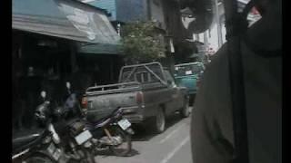 Uthai Thani Thailand  City new picture : back of a tuk tuk in Uthai Thani Thailand 200km North of Bangkok