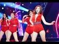 Hoàng Yến Chibi nhảy sexy đêm noel 2016