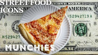 The Iconic $1 Pizza Slice of NYC – Street Food Icons