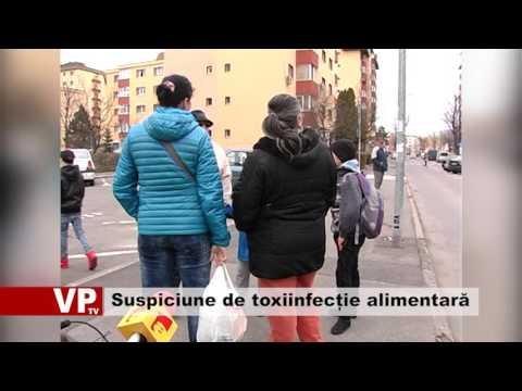 Suspiciune de toxiinfecție alimentară