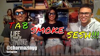 SMOKE SESH WITH @charmazingg! by Take a Break with Aaron & Mo