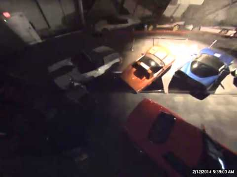 footage - Video footage from the National Corvette Museum security cameras showing the sinkhole collapse in the Skydome.