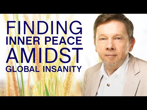 Finding Inner Peace During Stressful Times | Q&A Eckhart Tolle