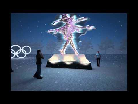 SCULPTURE SOCHI OLYMPICS 2014 VER E1