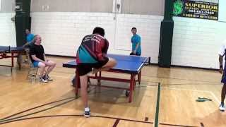 Greatest Table Tennis Shot