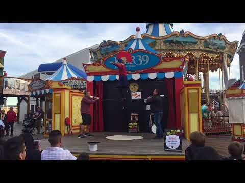 65 Year Old Pier 39 Performer