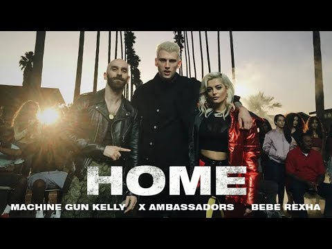 Machine Gun Kelly, X Ambassadors & Bebe Rexha - Home (from Bright: The Album) [Music Video] (видео)