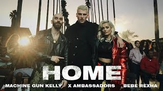 Video Machine Gun Kelly, X Ambassadors & Bebe Rexha - Home (from Bright: The Album) [Official Video] MP3, 3GP, MP4, WEBM, AVI, FLV Oktober 2018