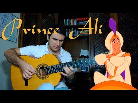Prince Ali (Aladdin Disney) - Fingerstyle Guitar (Marcos Kaiser) #23