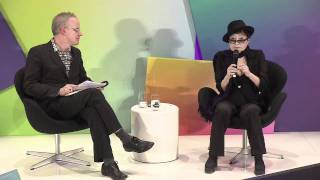 DLD 2012 - At Dawn with Yoko Ono - YouTube