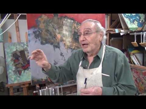 תערוכה בתיאטרון ירושלים של הצייר בן ה-90 ניסים זלאיט