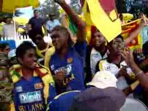 Appu Army partying in Canberra - Sri Lanka Vs India cricket match