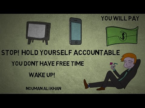 HOW TO STOP WASTING TIME [YOUTH] - Nouman Ali Khan Animated