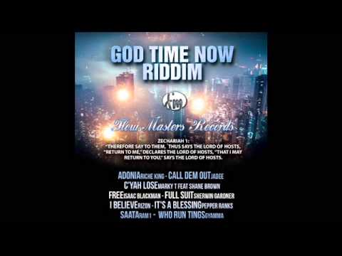 GOD TIME NOW RIDDIM 2014 [FLOW MASTERS RECORDS] DJ SUPA MIX @IAMDJSUPA