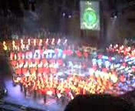 God save the Queen - Mountbatten Festival (London) (видео)