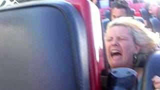 Mom On RollerCoaster Reaction