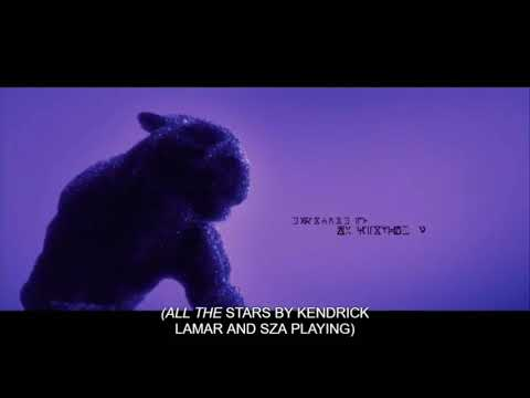 [BLACK PANTHER] (2018) - End Credits Song - {Kendrick Lemar (ALL THE STARS) feat. SZA}
