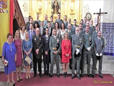 La Guardia Civil de Isla Cristina celebra la festividad del Pilar