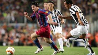 Messi als 17-Jähriger gegen Juventus