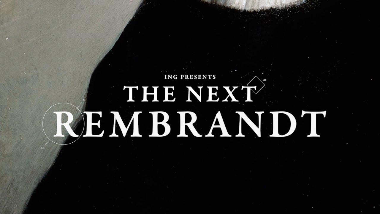 Počítačem vytvořený nový Rembrandt se ukázal v Praze
