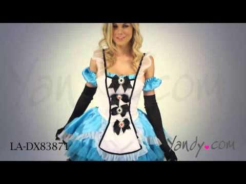 Deluxe Fantasy Alice Costume