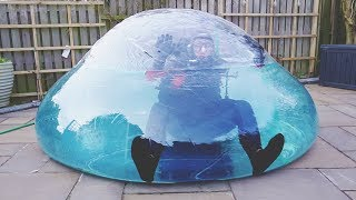 Video I Went Scuba Diving in a Zorb Ball & You Have to See What Happened… (Swimming on Land Challenge) MP3, 3GP, MP4, WEBM, AVI, FLV April 2018