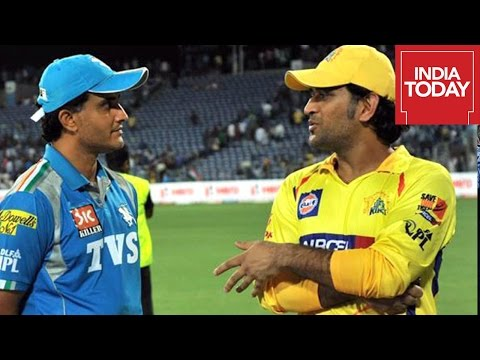 Saurav Ganguly Advises Dhoni To Bat Up the Order For Pune Supergiants