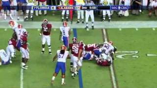Mike Pouncey vs Alabama vs  ()