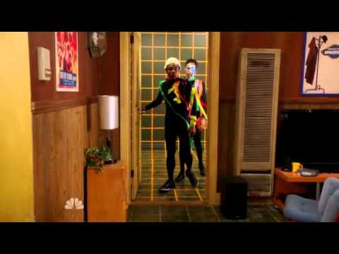 Community S03E11 Troy and Abed's Dreamtorium Weird-down Purge