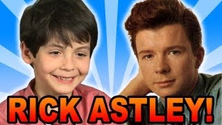 Kid's Favorite Singer is RICK ASTLEY