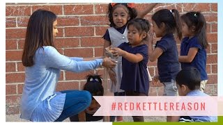Holiday Visit to The Salvation Army's LA Day Care Center | #RedKettleReason by Dulce Candy