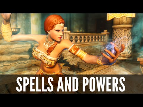 Skyrim Mod: Spells and Powers