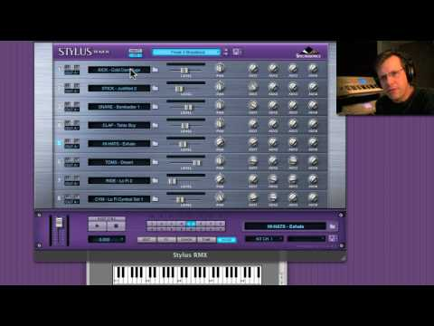 Stylus RMX 1.8 Part 3 - Drum Kits & Multis