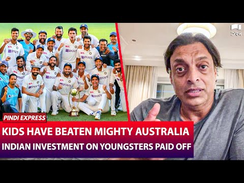 Indian Investment has Paid Off Big Time !   IndiaVSAustralia 2021   Shoaib Akhtar   SP1N