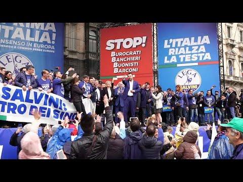 Italien: Europaweites Rechtsbündnis trifft sich in Ma ...